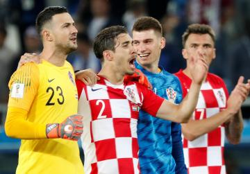Watch: Own goal and penalty ensure Croatia celebrations