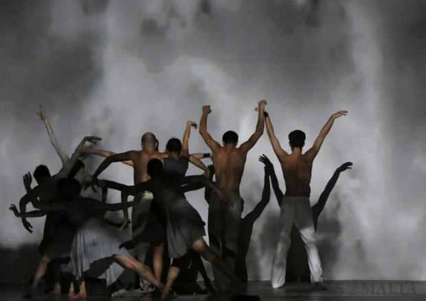"Dancers of Ballet de l'Opera Theatre De Metz Metropole of France take part in ""Chancel"", a contemporary dance production with music by Max Richter and choreographed by Gleb Lyamenkoff, at the Manoel Theatre in Valletta on January 9. Photo: Darrin Zammit Lupi"
