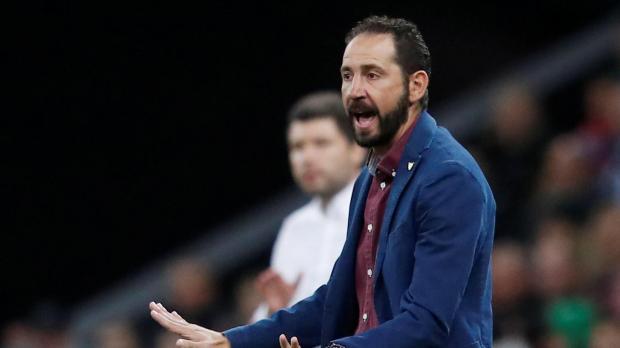 Sevilla coach Pablo Machin.