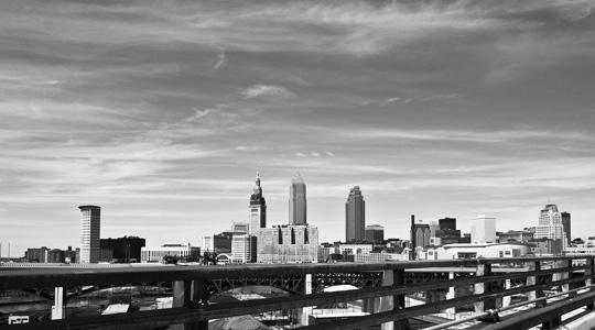 Once a proud manufacturing powerhouse, Cleveland has lost nearly 10 per cent of its population since 2000.