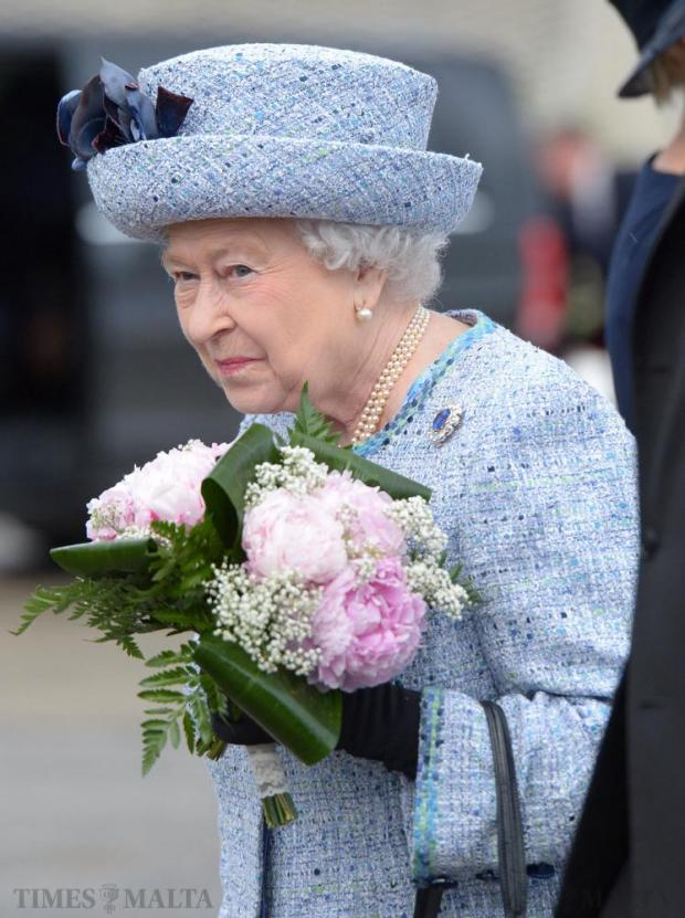 Queen Elizabeth arrives in Malta on November 26 for an official state visit. Photo: Matthew Mirabelli