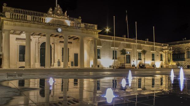 St George's Square, Valletta. Photo: Andrea Cini