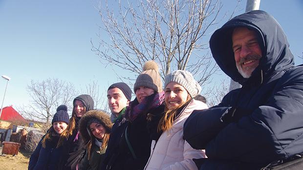 Rebecca Marie Sant, Miriana Magro, Christine-Marie Saliba, Jacob Azzopardi, MariaMizzi, Ann Marie Vassallo and Prof. Paul Pace. Photo: Dr Mark Mifsud