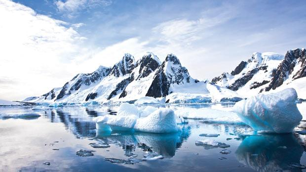 Sea ice around Antarctica is increasing due to the melting of the ice sheets from below.