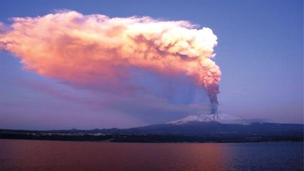 Mt Etna is Europe's most active volcano.