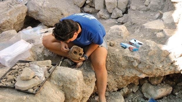 Image result for archaeologists at work