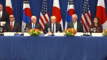 Trump unveils new sanctions against North Korea