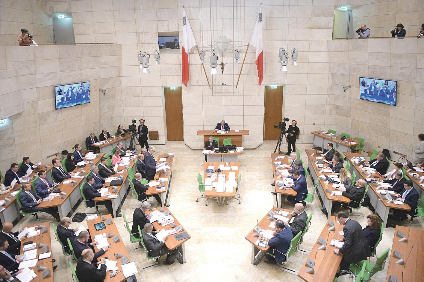 Red light for Malta on women in Parliament