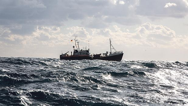The Sea-Watch 3 is anchored just a few kilometres off Malta's south western coast. Photo: AFP