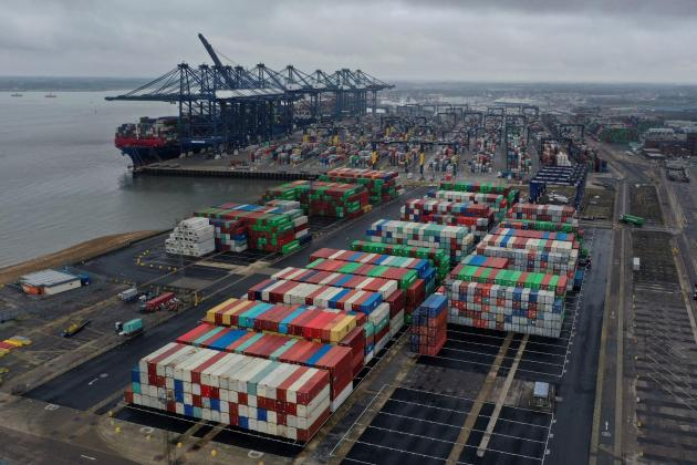 Shipping crunch 'to last up to nine months'