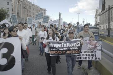 Protesters take to the streets of Quito
