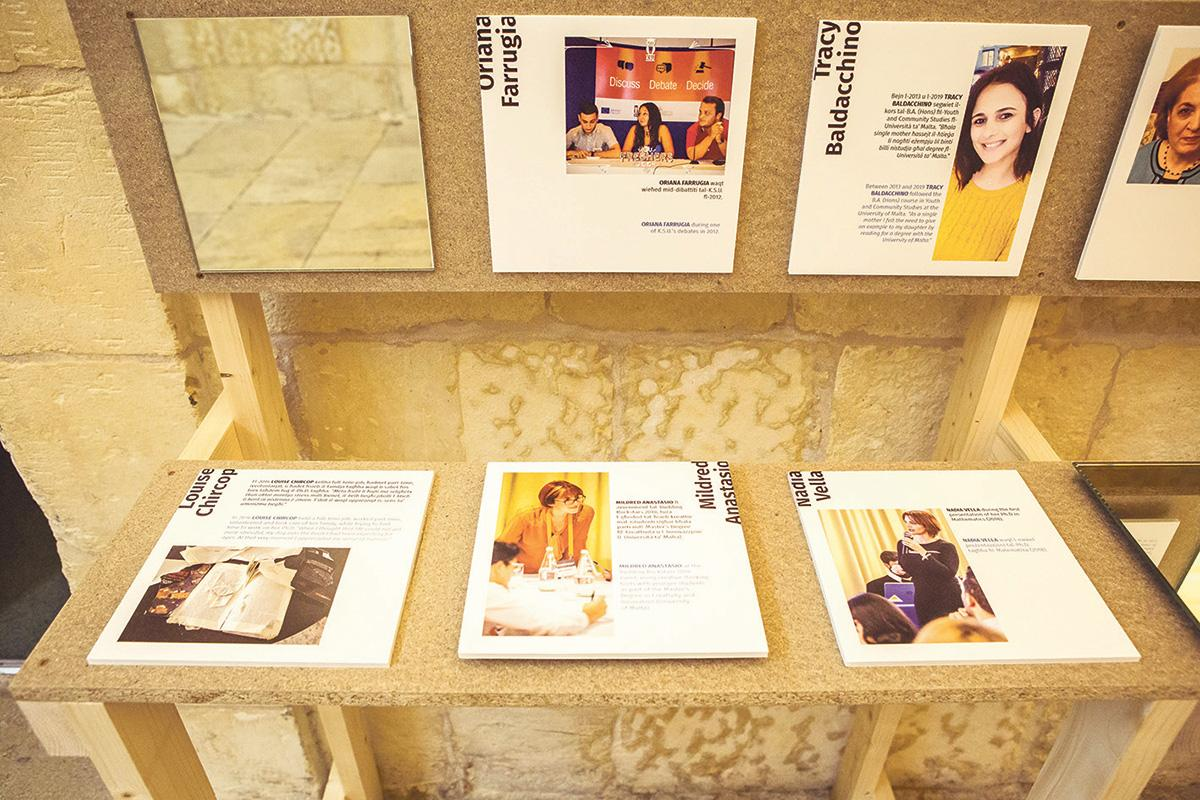 Images from the open call for recent graduates.