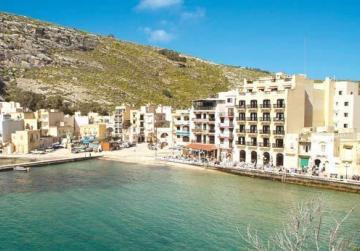Xlendi Bay closed due to illegally dumped farm waste