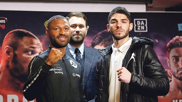 Michael Zerafa (right) hopes his fight against Kell Brook can propel him to the top echelons of the sport.