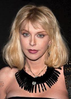 Courtney Love. Photo: Charles Sykes/PA Wire