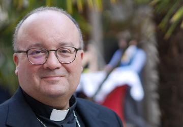 Archbishop Charles Scicluna addressed a briefing at the Vatican about a new law for the Catholic Church.