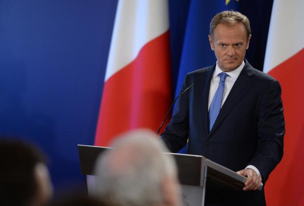 President of the European Council Donald Tusk, addresses members of the press after holding talks with Prime Minister, Joseph Muscat in Valletta on March 31st. Photo: Matthew Mirabelli