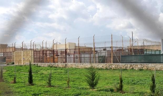 An empty Safi detention centre on November 6. Photo: Chris Sant Fournier