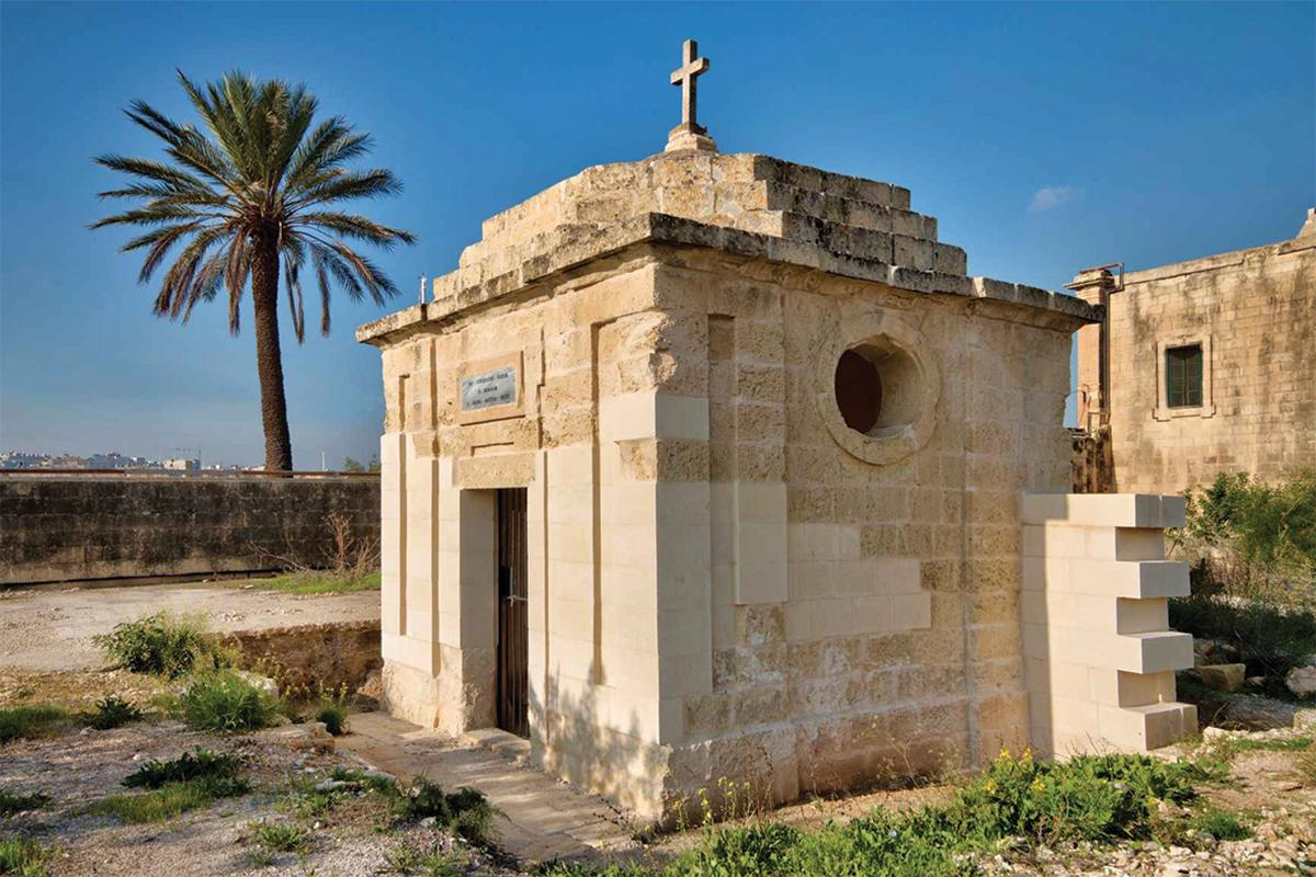 St George's chapel at Manoel Island