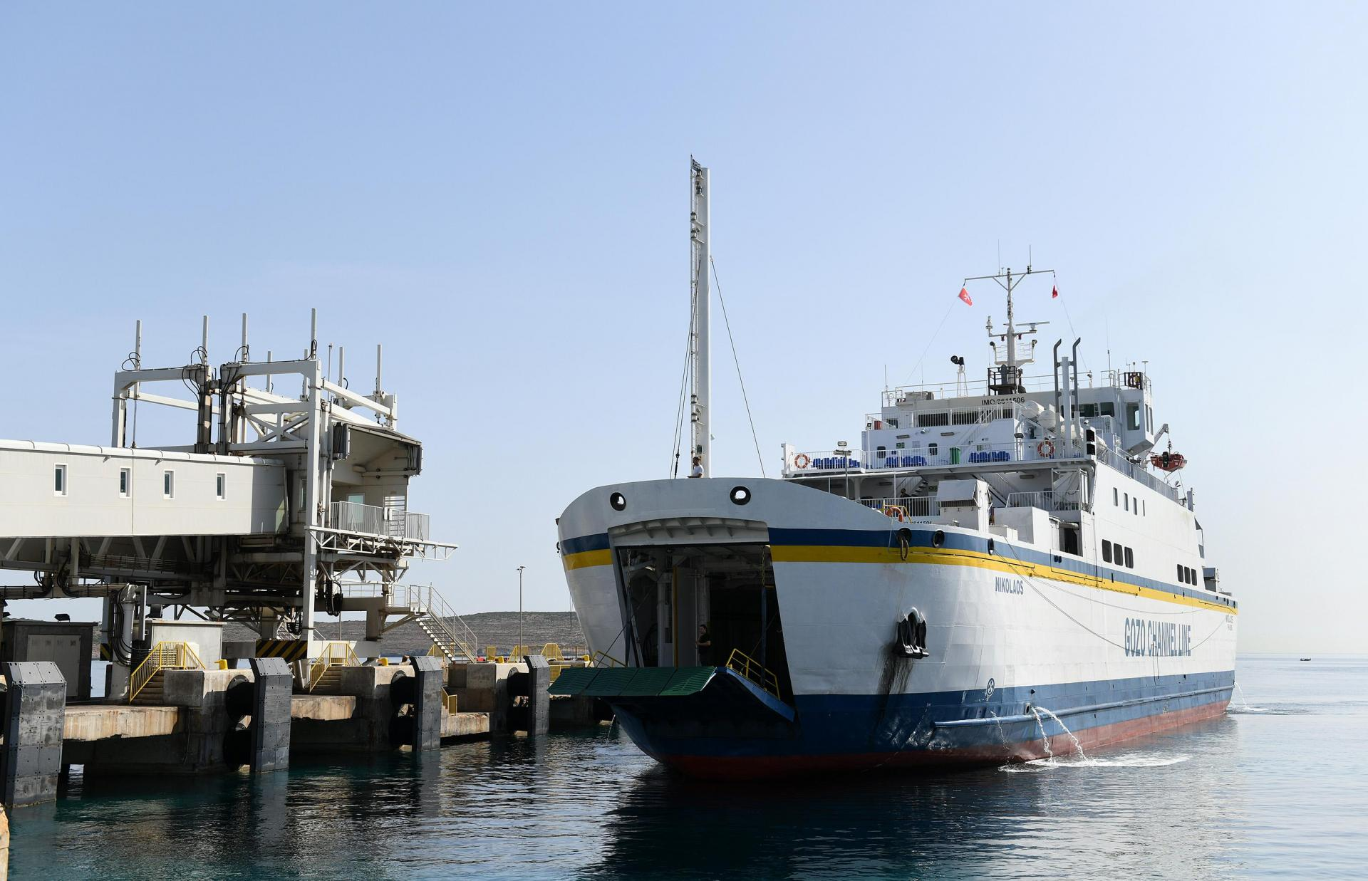Gozo Channel's fourth ferry arrives at Cirkewwa in June 2019: Bernard Grech said the additional vessel is not enough. Photo: Matthew Mirabelli