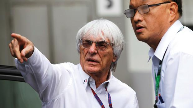 Bernie Ecclestone... Jersey wake-up call came too late.