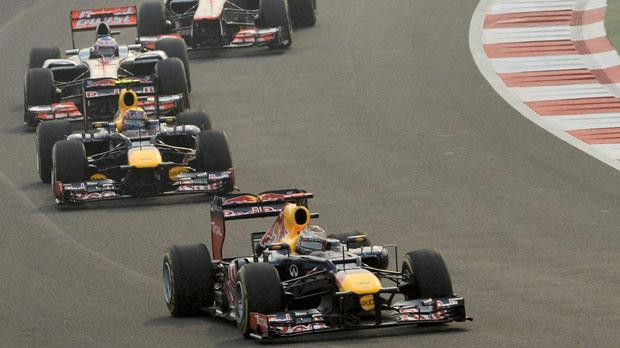 Red Bull have dominated the last four F1 races.