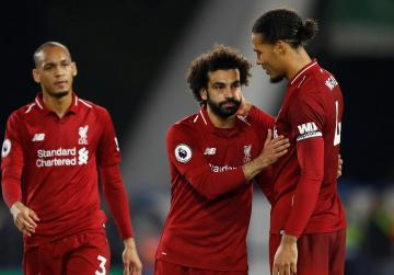 Salah back on the scoresheet as Liverpool scrape past Huddersfield