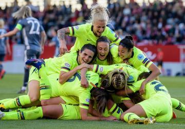 Watch: Hamraoui puts Barcelona within reach of Women's Champions League final