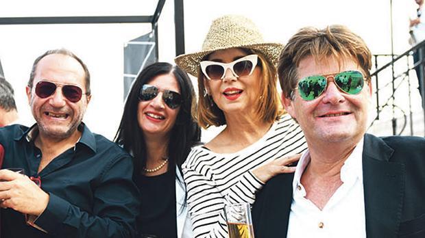 Adrian Bartolo, Sarah Micallef Attard, Carina Camilleri and Hugh Anastasi.