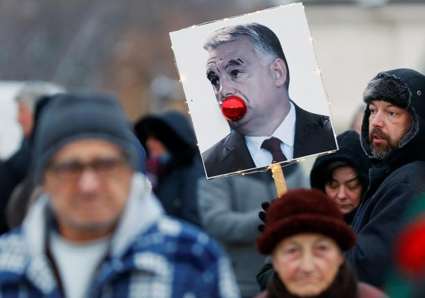 Orban's right-wing government is coming under increasing domestic criticism. Photo: Reuters