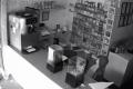 Watch: Thirsty burglar caught helping himself to drink