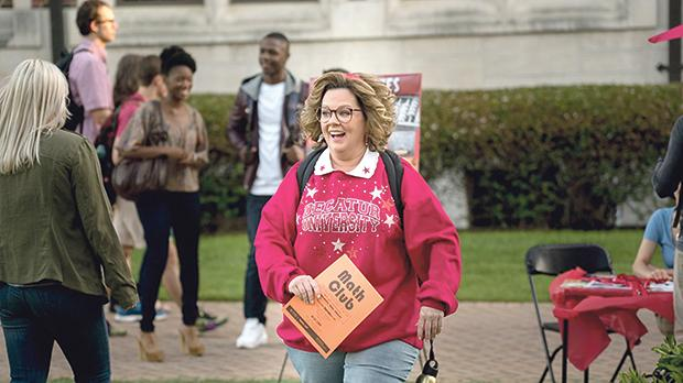 Melissa McCarthy is thrilled to return to college in Life of the Party.