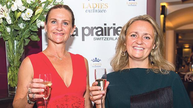 Event organiser Anneli Nilsson with Hanna Parsonson.
