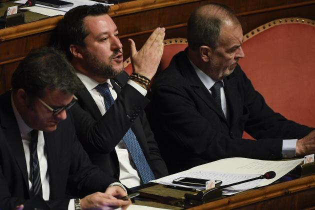 Italy Senate to vote on Salvini migrant trial immunity