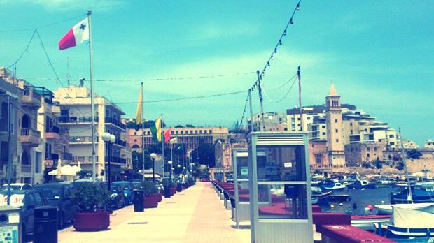 Marsascala promenade. Photo: Patricia Mccardle