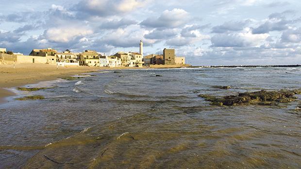 Punta Secca beach, Montalbano's film set.
