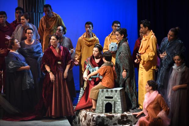 TMYO pictured in past production of Dido and Aeneas.