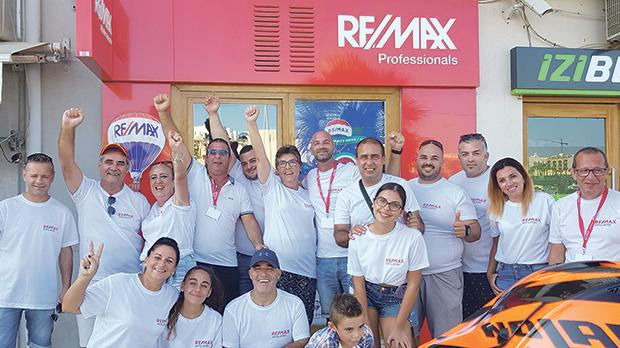 Remax Charity Fun Day outside Remax in Marsascala.