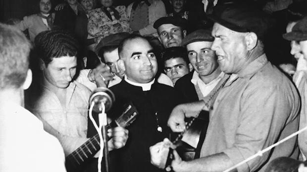 Fr Saverin Bianco who launched the fair in 1953 to raise funds for a new Baħrija church.