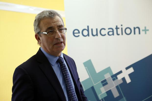 Minister Evarist Bartolo has defended prefab classroom plans. Photo: Chris Sant Fournier