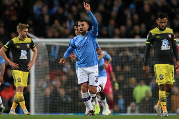 Watch: Man City stroll into League Cup quarters, Everton ease pressure on Silva