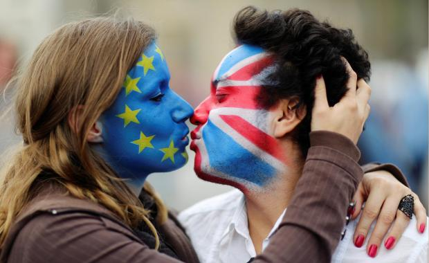 Brexit opinion was one of the five questions you should ask on a first date. File photo: Reuters