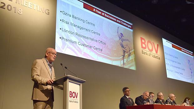 BOV held its AGM on May 10. Photo: Mark Zammit Cordina