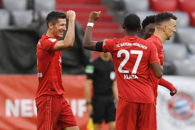 Watch: Bayern see off Frankfurt fightback to stay four points clear