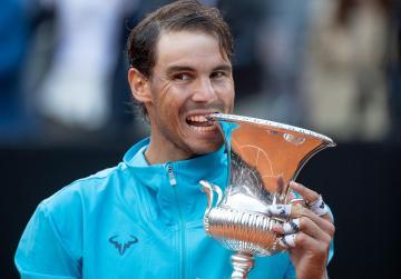 Nadal beats Djokovic to win ninth Rome title