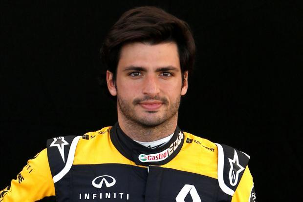 Carlos Sainz will team up with Stefan Vandoorne at McLaren next season.