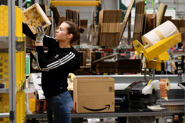 Amazon to hire 125,000 more ground workers in United States