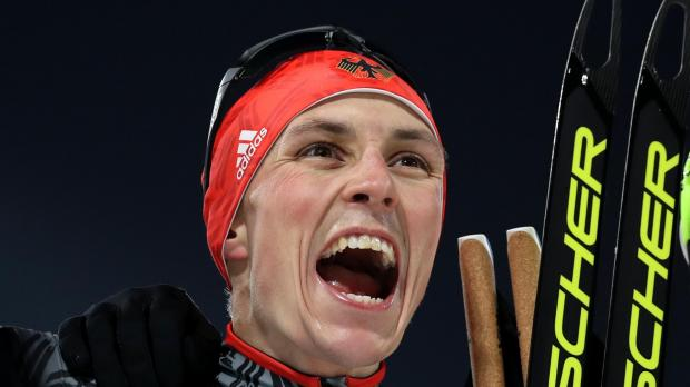 Eric Frenzel won gold for Germany in the Nordic Combined event.