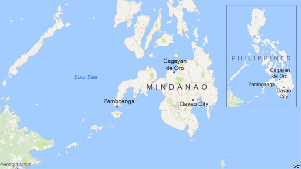 Strong quake strikes off Philippines