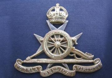 Coat of arms of the Royal Malta Artillery.